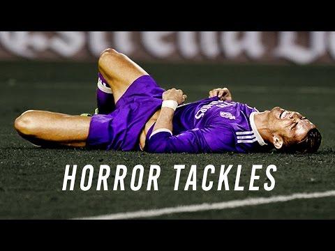 Cristiano Ronaldo • Horror Tackles • 2017