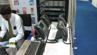 A demo of world class Cisco Unified Communications Lab infrastructure.