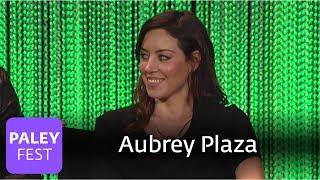 "Parks and Recreation - Aubrey Plaza's ""Kiss Me"" Improvisation"