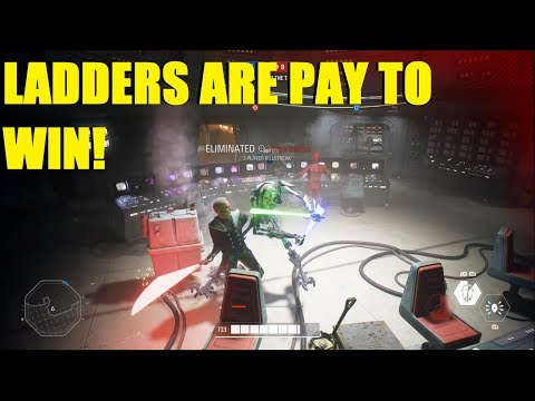 Star Wars Battlefront 2 - NEW OP THING! WATCH OUT FOR LADDERS! Count Dooku Hvsv! thumbnail