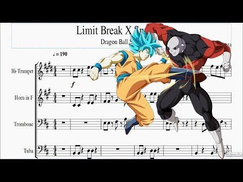 Partitura - Dragon Ball Super - Limit Break X Survivor (Grade)