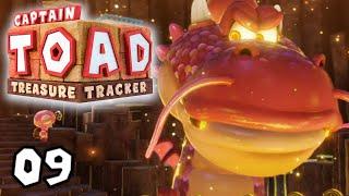 Draggadons Rache! (BOSS) | #09 | Captain Toad: Treasure Tracker