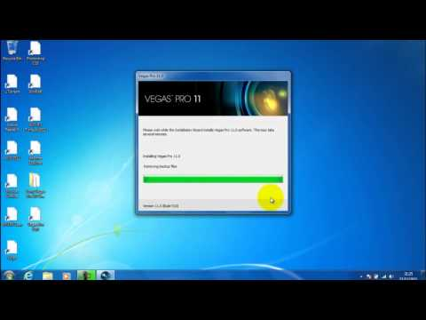 How To Download Sony Vegas Pro 11 Windows 7/Vista For FREE Voice Tutorial 720p