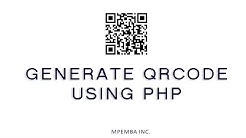 Generate QRcode in PHP 2019 Easiest way