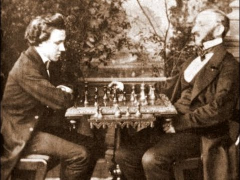 Paul Morphy vs Johann Jacob Loewenthal - New Orleans - 1850