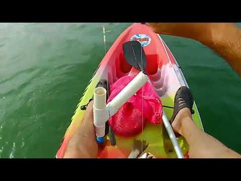 Pesca en kayak - Punta colorada - Uruguay