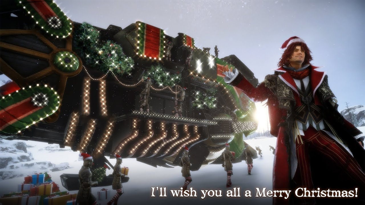 Final Fantasy Christmas.Final Fantasy Xv The Light Of Christmas
