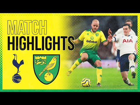 HIGHLIGHTS | Tottenham Hotspur 2-1 Norwich City | Late Son Heung-min Goal Stops City Earning A Point