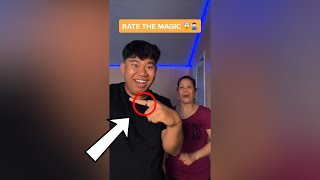 Mom Rates My MAGIC TRICKS!! - #Shorts