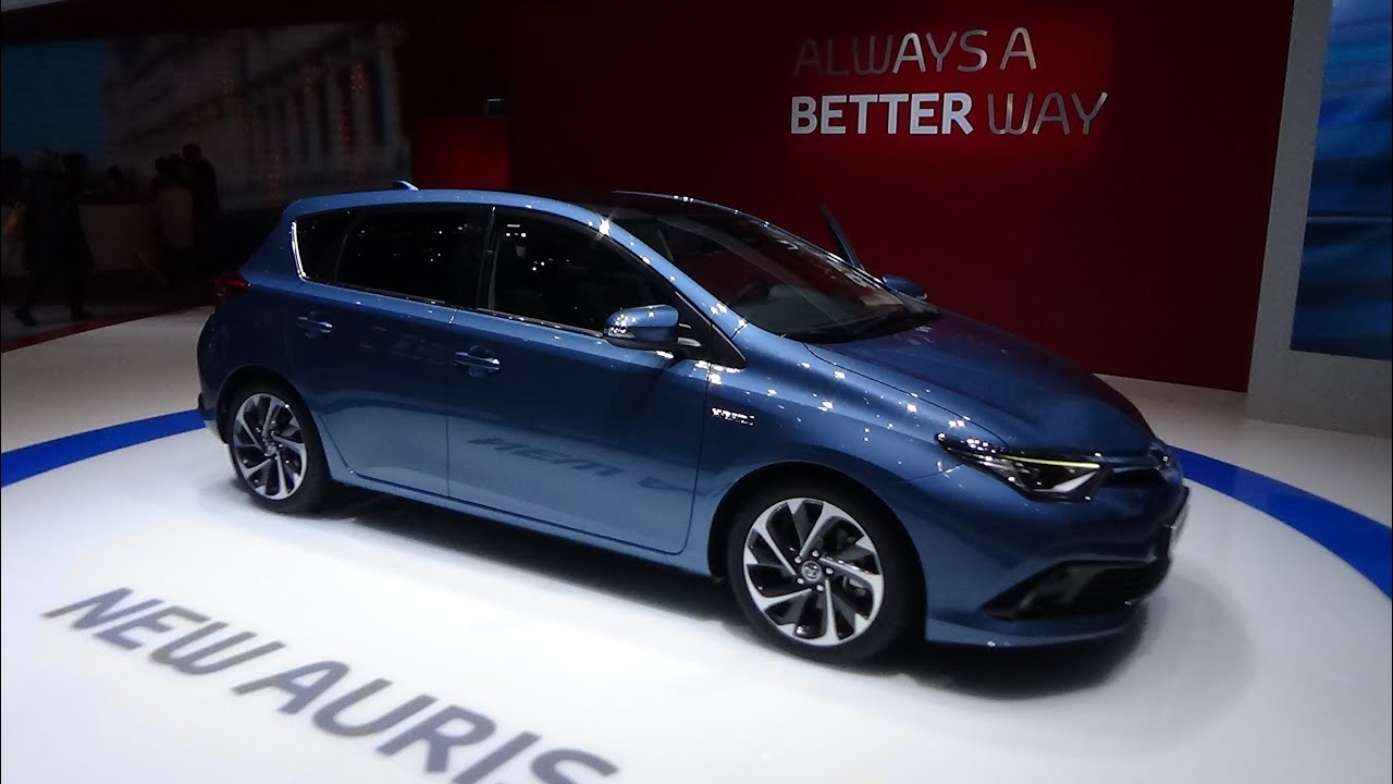 2016 toyota auris hybrid geneva motor show 2015 youtube. Black Bedroom Furniture Sets. Home Design Ideas