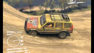SpinTires 2013 JEEP CHEROKEE Test drive
