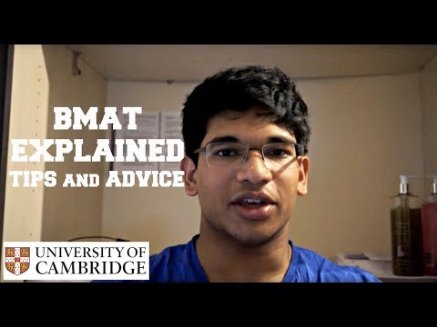 BMAT EXPLAINED | TIPS and ADVICE | Get Into Medical School