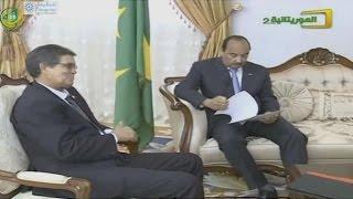 رئيس الجمهورية  يستقبل مبعوثا خاصا من نظيره الصحراوي - قناة الموريتانية