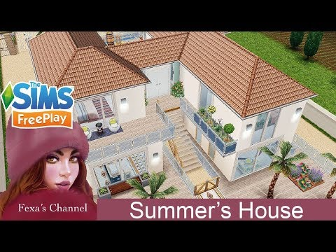 The Sims Freeplay • Speed Build • Summer Estate  [Ep.12]