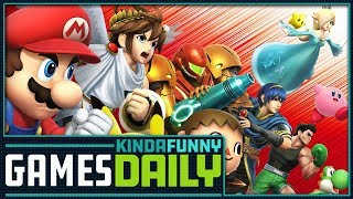 Smash Bros. Switch Rumors - Kinda Funny Games Daily 02.21.18