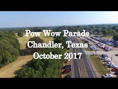 Pow Wow Parade in Chandler, TX - October 2017