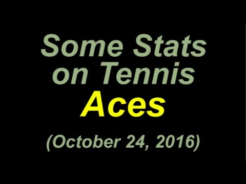 🎾 Federer 4 Aces in a Row – ATP Statistics  – Updated October 24, 2016 🎾