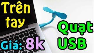 Đập hộp Lazada quạt USB giá 8k ngon bổ rẻ