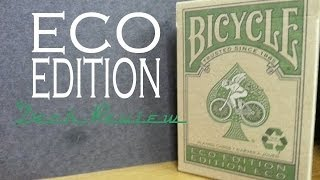 Eco Edition Deck - Bicycle USPCC - Playing Cards Review