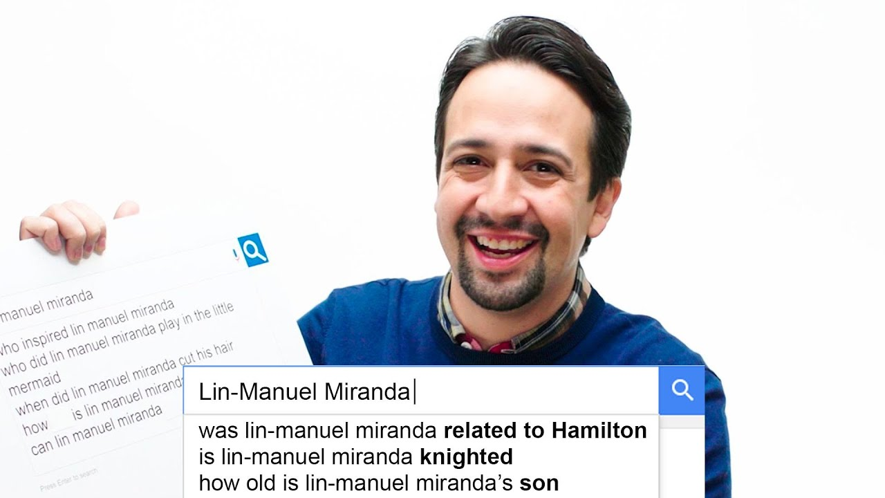 Lin-Manuel Miranda Answers the Web's Most Searched Questions | WIRED