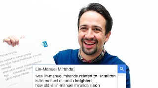 Lin-Manuel Miranda Answers the Web