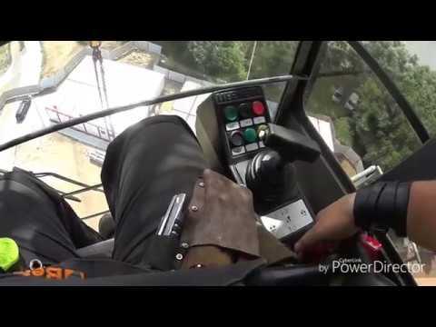 видео: башенный кран liebherr 154 fr.tronic , мелочь но попробуй найди