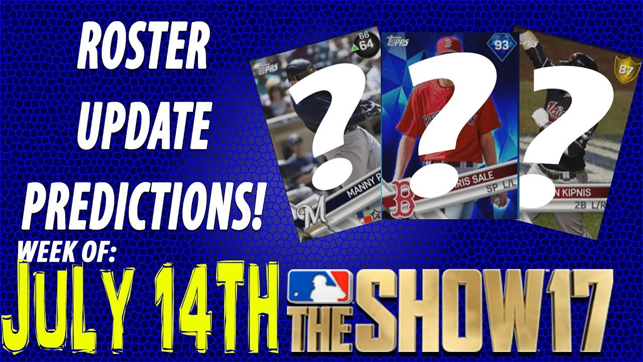 how to update rosters on mlb the show 14