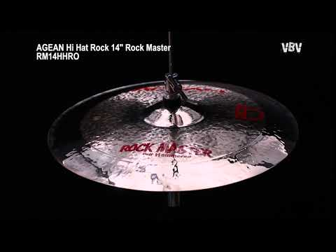 "14"" Hi Hat Rock Rock Master video"