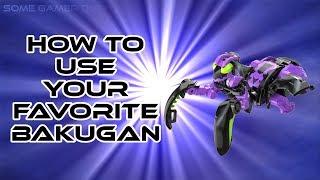 HOW TO USE YOUR FAVORITE BAKUGAN (BAKUGAN BATTLE PLANET)