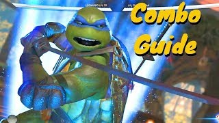 Leonardo Combo Guide! Ninja Turtles Injustice 2!
