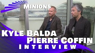 Kyle Balda And Pierre Coffin Interview: Minions