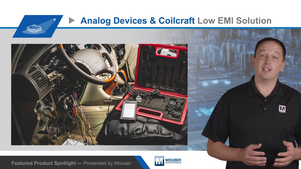 ADI/Coilcraft Lower EMI with High-Reliability Regulators and Inductors —  Featured Product Spotlight