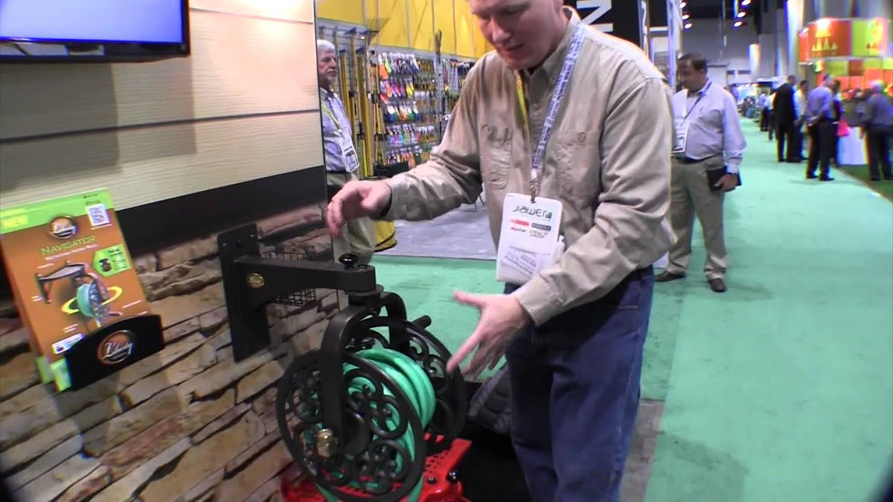Liberty Garden Products Navigator Rotating Wall Mounted Hose Reels: By The  Weekend Handyman   YouTube