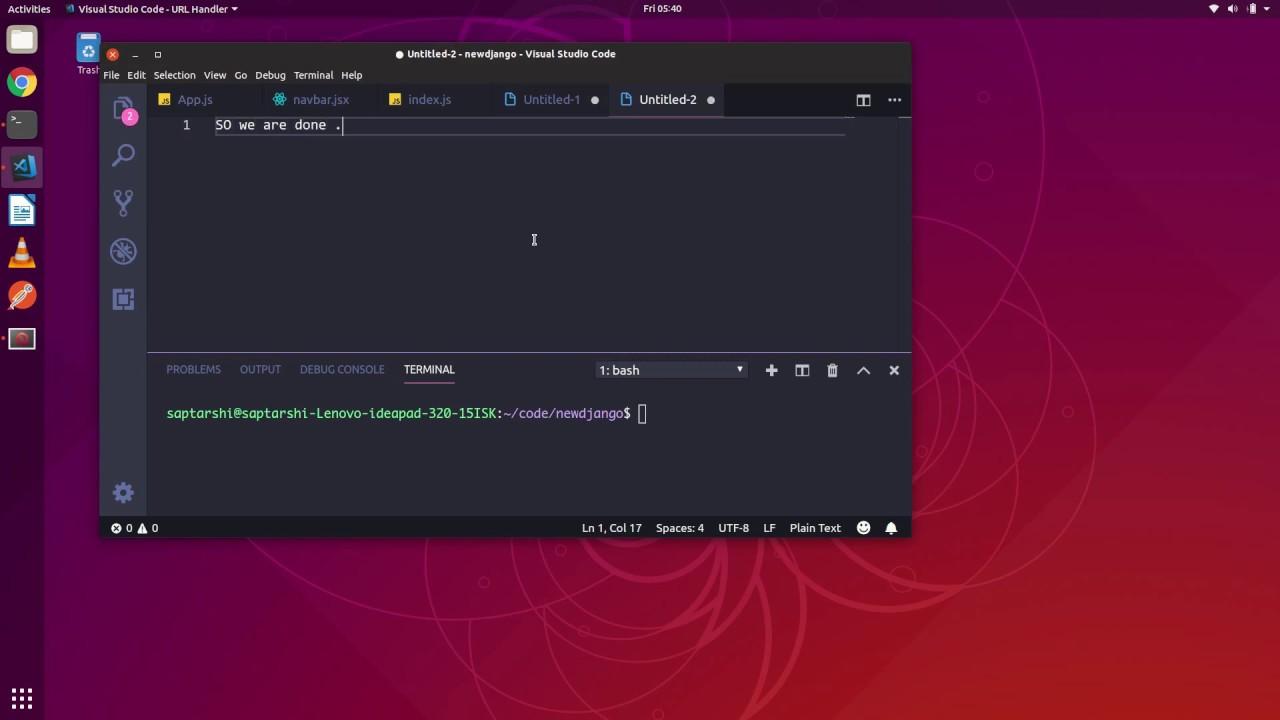 install javascript ubuntu terminal