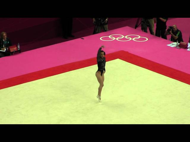 2012 Olympics EF Catalina Ponor Floor Travel Video