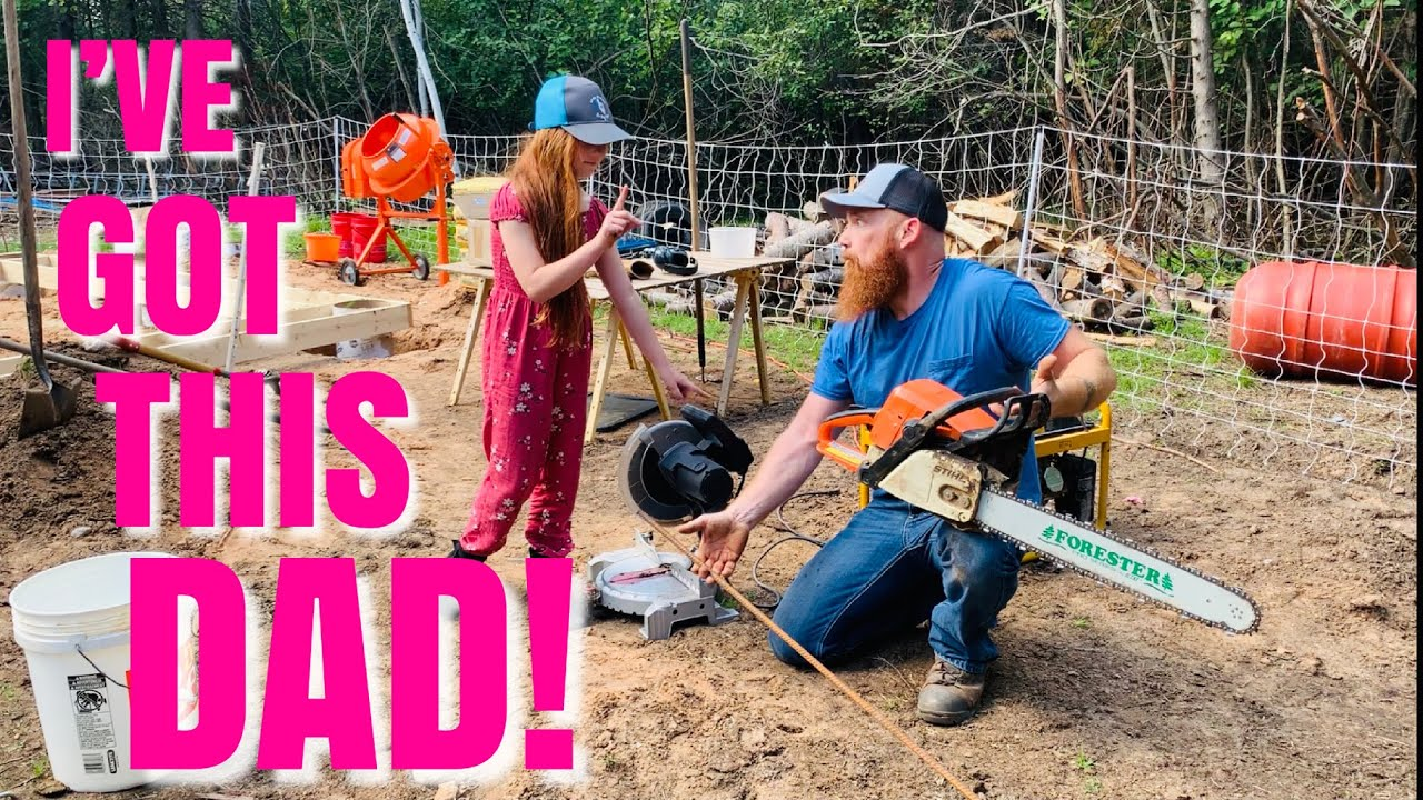 Off Grid YouTube Family takes Homeschooling to a Whole New Level | Building Our Foundation