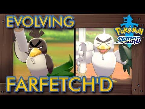 Pokémon Sword & Shield - How to Evolve Farfetch'd into Sirfetch'd