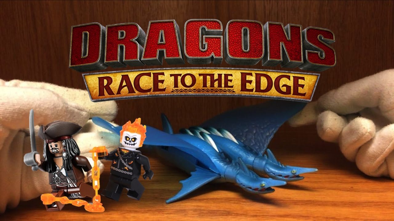 How To Train Your Dragon Seashocker Dragon Toy Review Race To The Edge 2016  Dreamworks