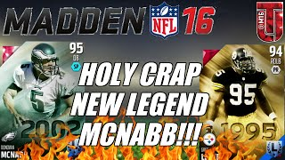 HOLY CRAP NEW LEGEND Donovan McNabb Is Coming! | Madden Ultimate 16 Legends