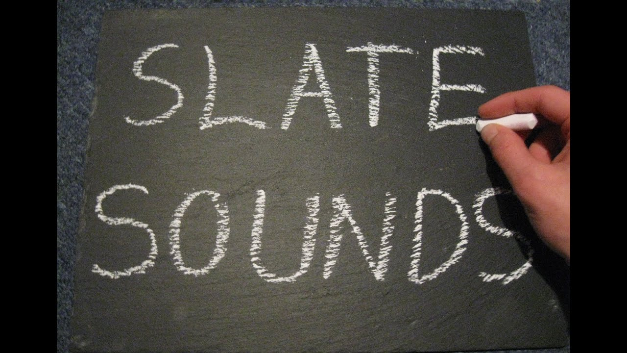 asmr slate sounds writing drawing with chalk tapping and