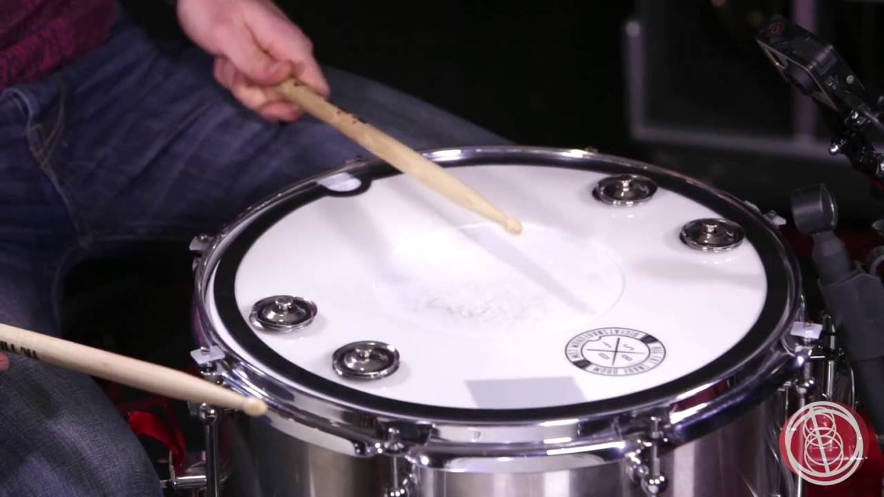 Big Fat Snare Drum Snare-Bourine-Donut 12/""