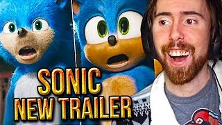 Asmongold Reacts To NEW Sonic The Hedgehog Trailer