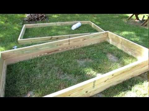 How to Quickly & Easily Build Raised Bed Garden Frames