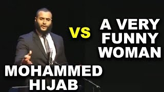 Mohammed Hijab Vs A Very Funny Woman
