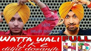 watta wali semi patiala shahi dastar, free style turban,pagg like diljit dosanjh turban king