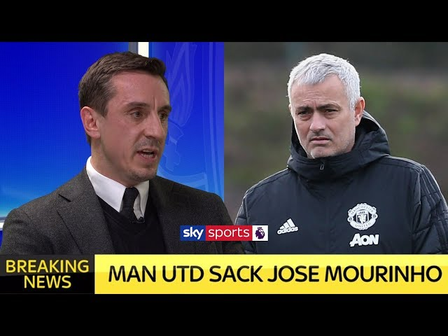Gary Neville reacts to Jose Mourinho being sacked by Manchester United LIVE!