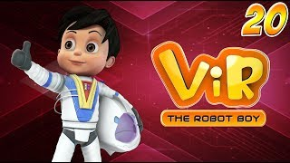 Animated Series | Vir The Robot Boy | Hindi Stories | Hindi Cartoons | Student Of The Week |Wow Kidz