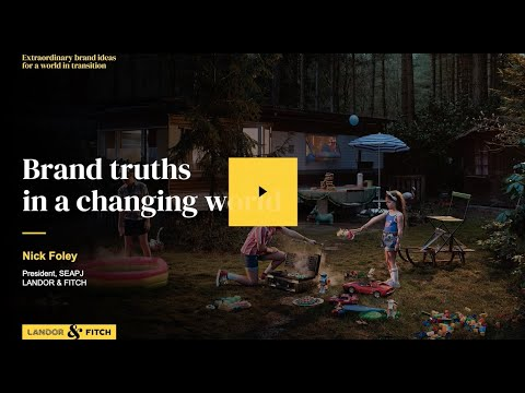 Extraordinary Webinar - Brand truths in a changing world
