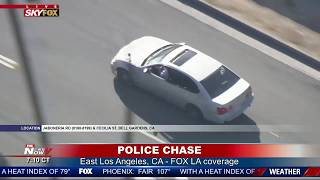 SUSPECTS IN CUSTODY: Following police chase that ended on foot in Los Angeles
