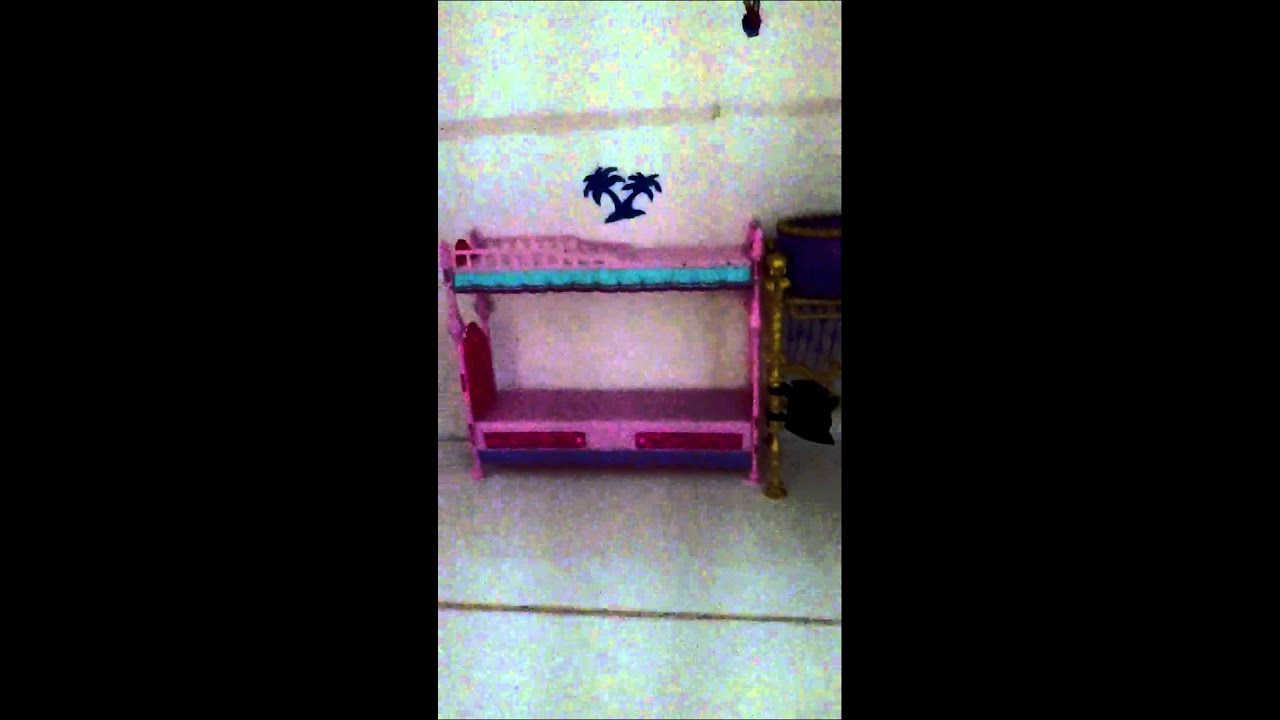 How To Make A Monster High Doll House Furniture Part1   YouTube